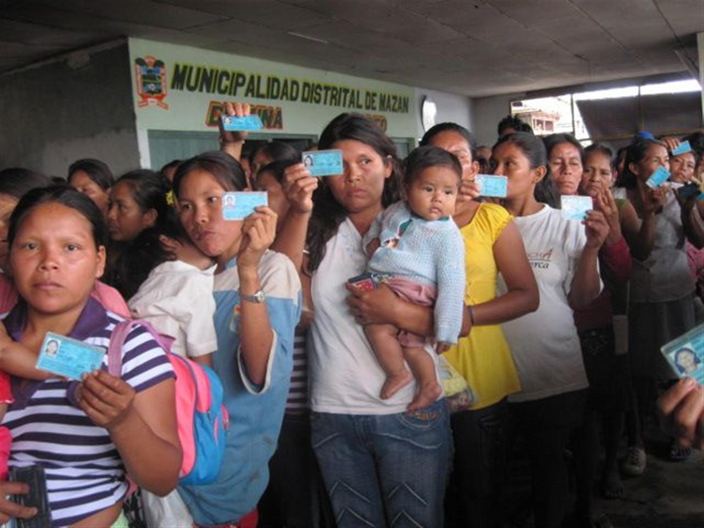 Amazonas registra aumento de Poblacion Electoral según RENIEC