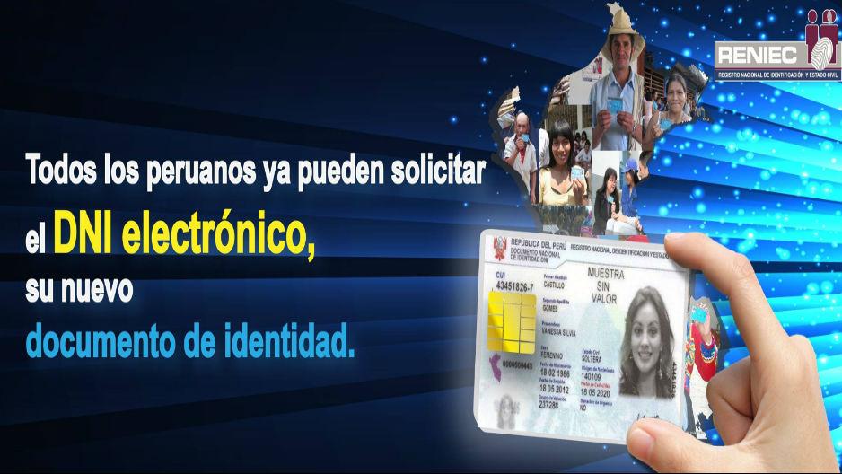 RENIEC IMPLEMENTA SERVICIO DE DNI ELECTRÓNICO EN BAGUA Y UTCUBAMBA