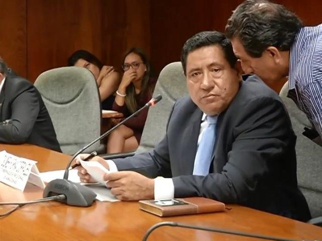 CONSEJERA POR LA PROVINCIA DE BAGUA, EMITE PRONUNCIAMIENTO ANTE LA BOCHORNOSA PARTICIPACIÓN DEL GOBERNADOR REGIONAL DE AMAZONAS EN LA COMISIÓN DE FISCALIZACIÓN DEL CONGRESO