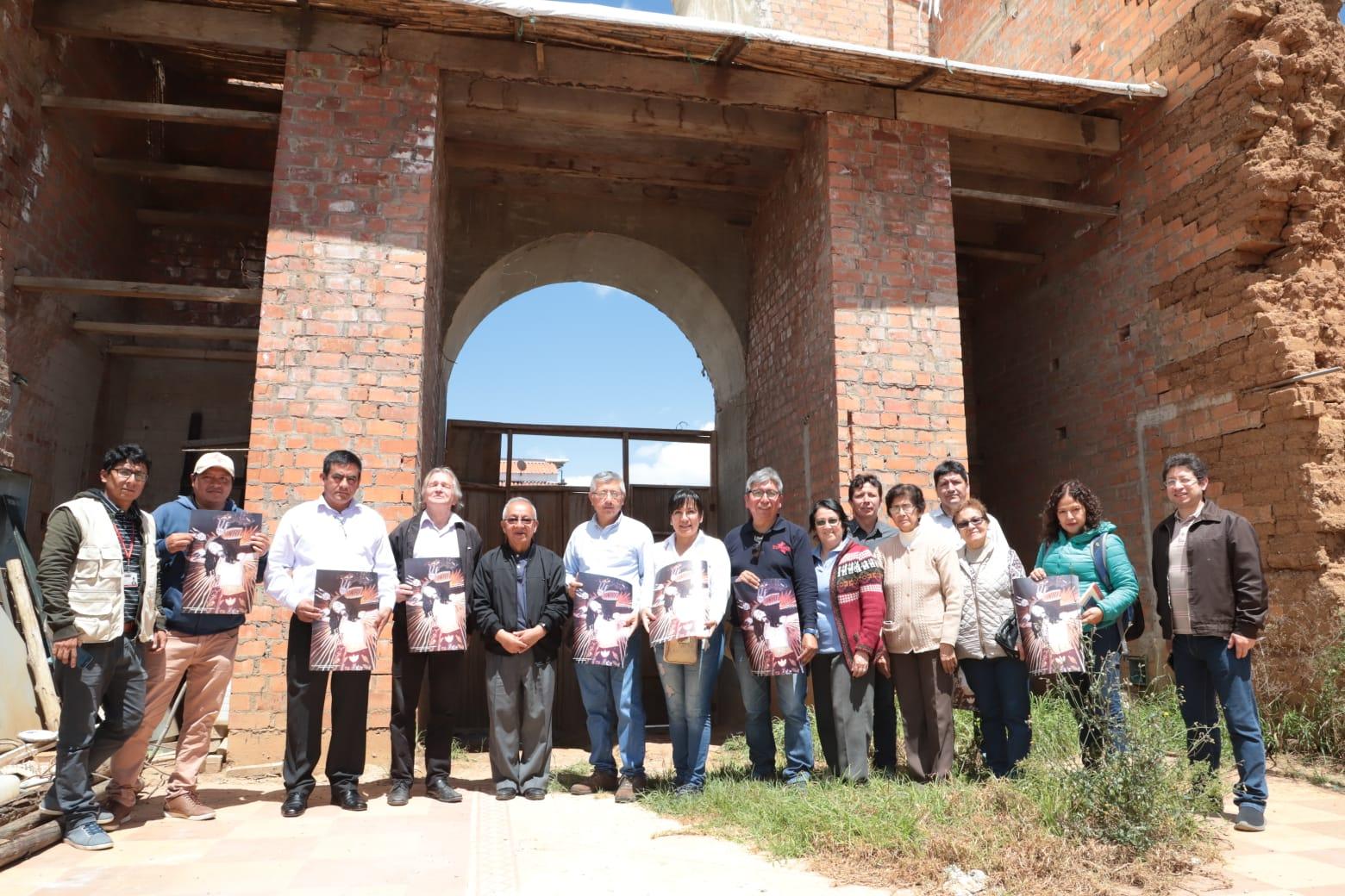 Plan COPESCO  entregó terreno para restauración del Templo del Señor de Burgos de Chachapoyas.