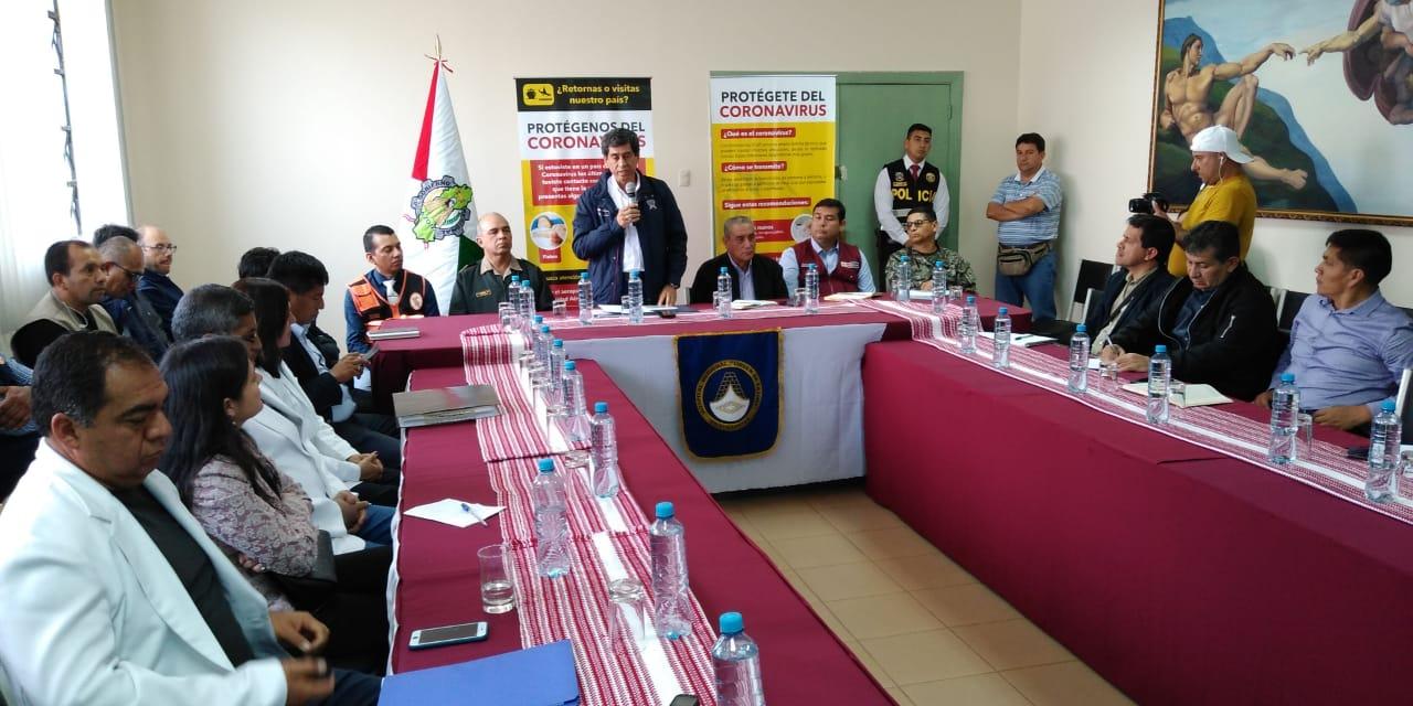 Ministro Carlos Lozada llegó a Amazonas para monitorear acciones sobre el coronavirus.