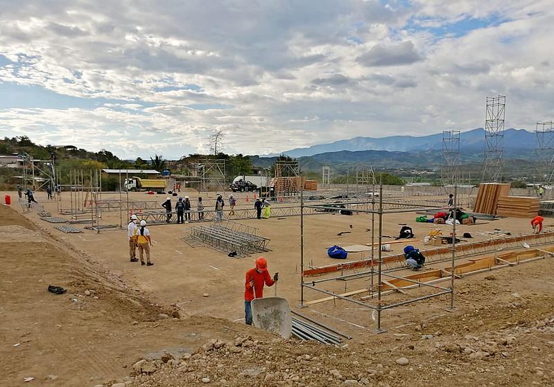 Iniciaron trabajos de Instalación de Centros de Atención y Aislamiento Temporal en Bagua y Bagua Grande.